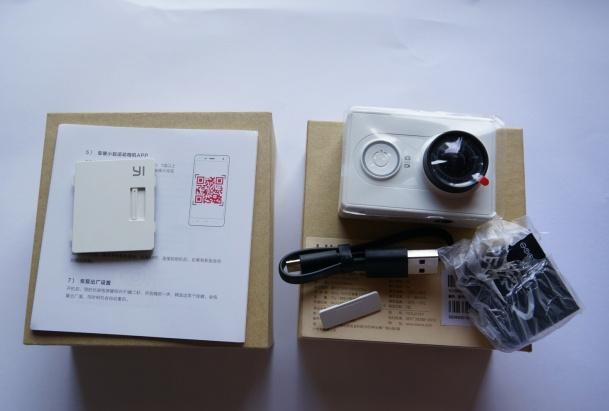 Xiaomi Yi Camera Paket Penjualan