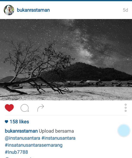 settingan kamera milky way