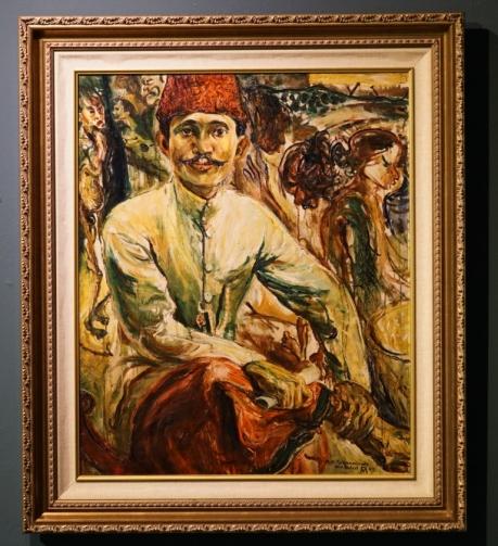pamern lukisan soekrno