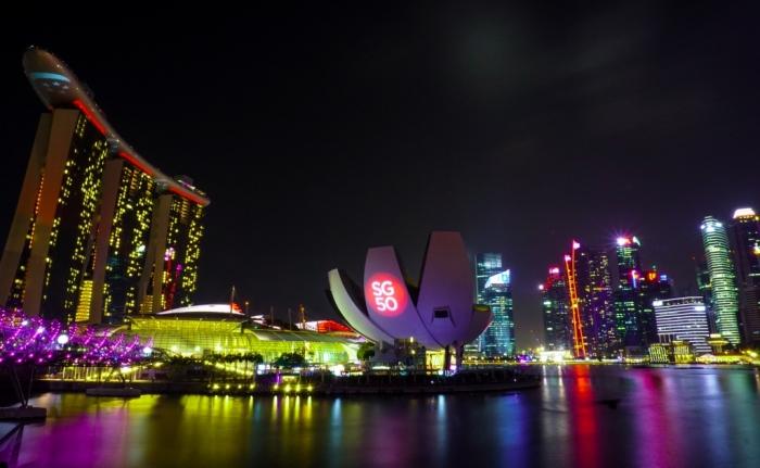 singapore-malam-hari